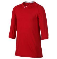 Nike Pro Cool Boy's 3/4 Sleeve Baseball Shirt