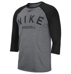 Nike Cross-Dye Legend Men's 3/4 Sleeve Baseball Top