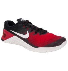 Nike Metcon 4 Men's Training Shoes - Black/Vast Grey/Hyper Crimson
