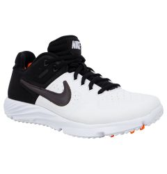 Nike Alpha Huarache Elite 2 Women's Turf Shoes - White/Gray/Black