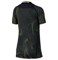 Nike Pro Boy's Short Sleeve Printed Training Shirt