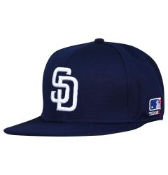 San Diego Padres OC Sports MLB Replica FlexFit Baseball Cap