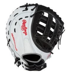"Rawlings Heart of the Hide PROFM19SB 13"" Fastpitch Softball First Base Mitt"