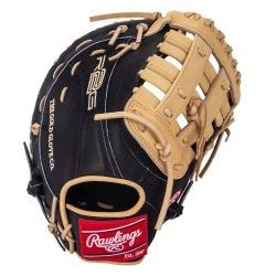 "Rawlings Heart of the Hide R2G Series PRORFM18-17BC 12.5"" Baseball First Base Mitt"