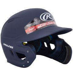 Rawlings Mach Matte Senior Batting Helmet w/ EXT Flap