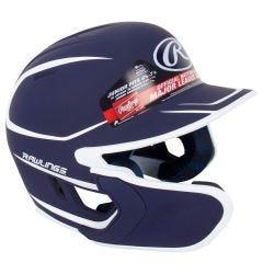 Rawlings Mach Matte Junior Two-Tone Batting Helmet w/ EXT Flap