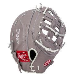 "Rawlings R9 Series 12.5"" Fastpitch Softball First Base Mitt - 2021 Model"