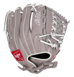 """Rawlings R9 Series 12.5"""" Double Lace Fastpitch Softball Glove - 2021 Model"""