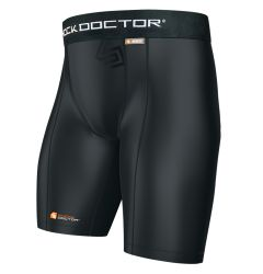 Shock Doctor 220 Core Compression Adult Shorts w/Cup Pocket