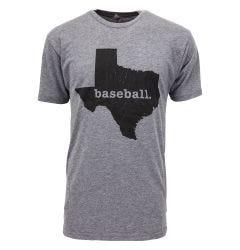 Smart Texas Baseball Senior Short Sleeve Tee Shirt