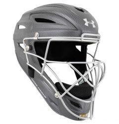 Under Armour Pro Matte Carbon Adult Catcher's Helmet