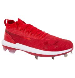Under Armour Harper 3 ST Men's Low Metal Baseball Cleats - Red/White