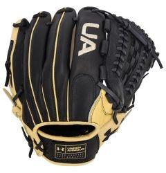 "Under Armour Genuine Pro UAFGGP-1200DS 12"" Baseball Glove - Black/Cream"