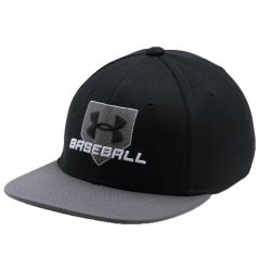 Under Armour Boys' Embossed Baseball Cap