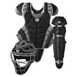 Wilson C1K Intermediate Baseball Catcher's Kit