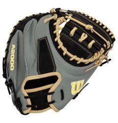 """Wilson A2000 M1D Spin Control 33.5"""" Baseball Catcher's Mitt - 2021 Model"""