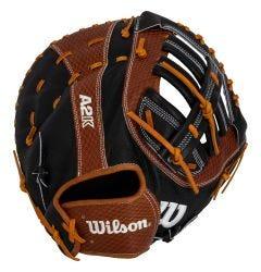 """Wilson A2K 2820 SuperSkin 12.25"""" Baseball First Base Mitt - 2021 Model"""