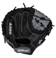 "Wilson A360 CarbonLite 31.5"" Youth Baseball Catcher's Mitt - 2021 Model"