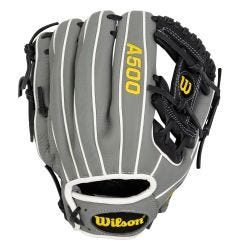"Wilson A500 11"" Youth Baseball Glove - 2021 Model"