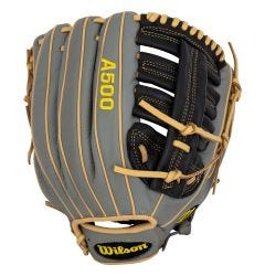 "Wilson A500 12.5"" Youth Baseball Glove - 2021 Model"