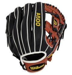 "Wilson A500 11.5"" Youth Baseball Glove - 2021 Model"