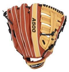 "Wilson A500 12.5"" Youth Baseball Glove - 2019 Model"