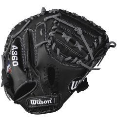 "Wilson A360 32.5"" Youth Baseball Catcher's Mitt"