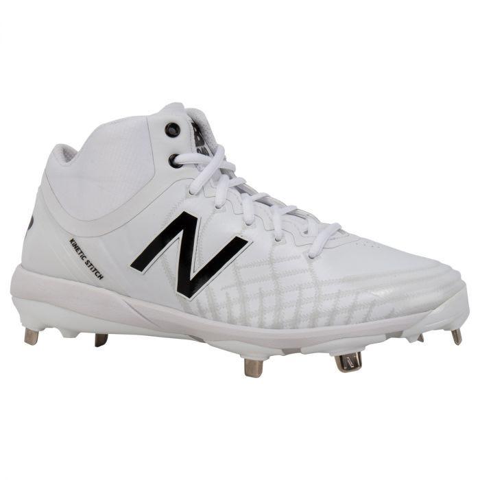 new balance white cleats softball - 63