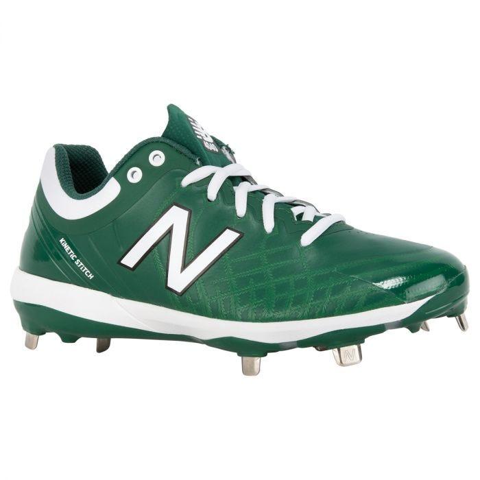 boys green baseball cleats