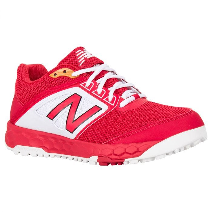 Nuclear comprador deficiencia  New Balance Fresh Foam 3000v4 Men's Turf Shoes - Red