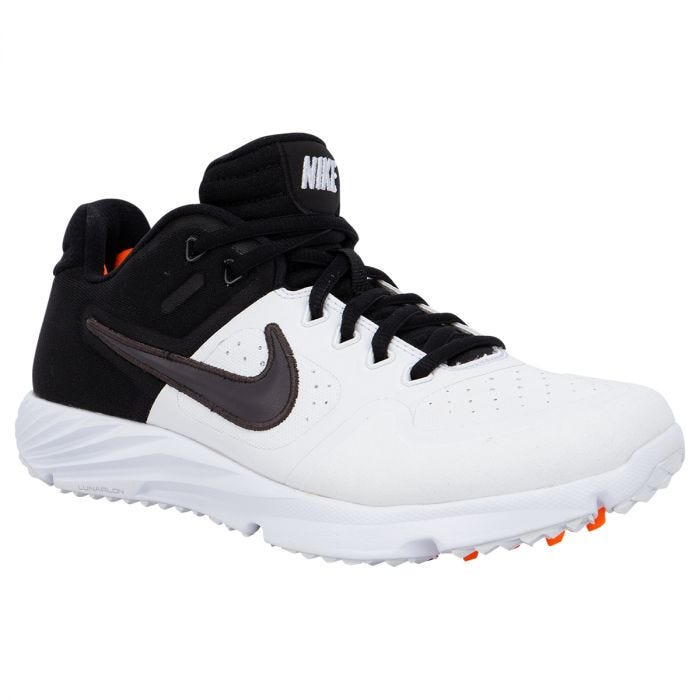 white turf shoes