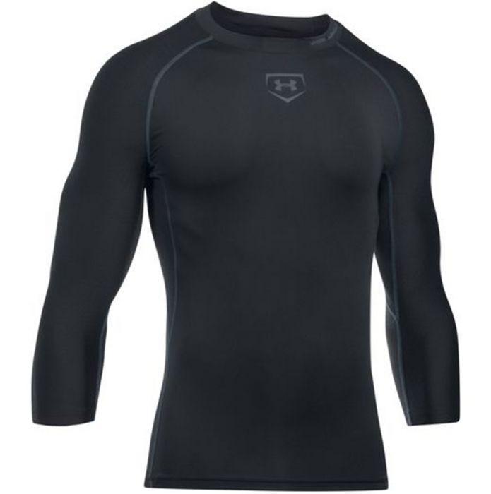 por inadvertencia Suposición Hito  Under Armour Zonal 3/4 Sleeve Compression Shirt
