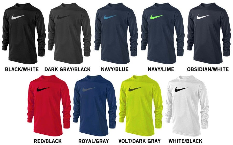 Nike Legend Long Sleeve Boy's Shirt