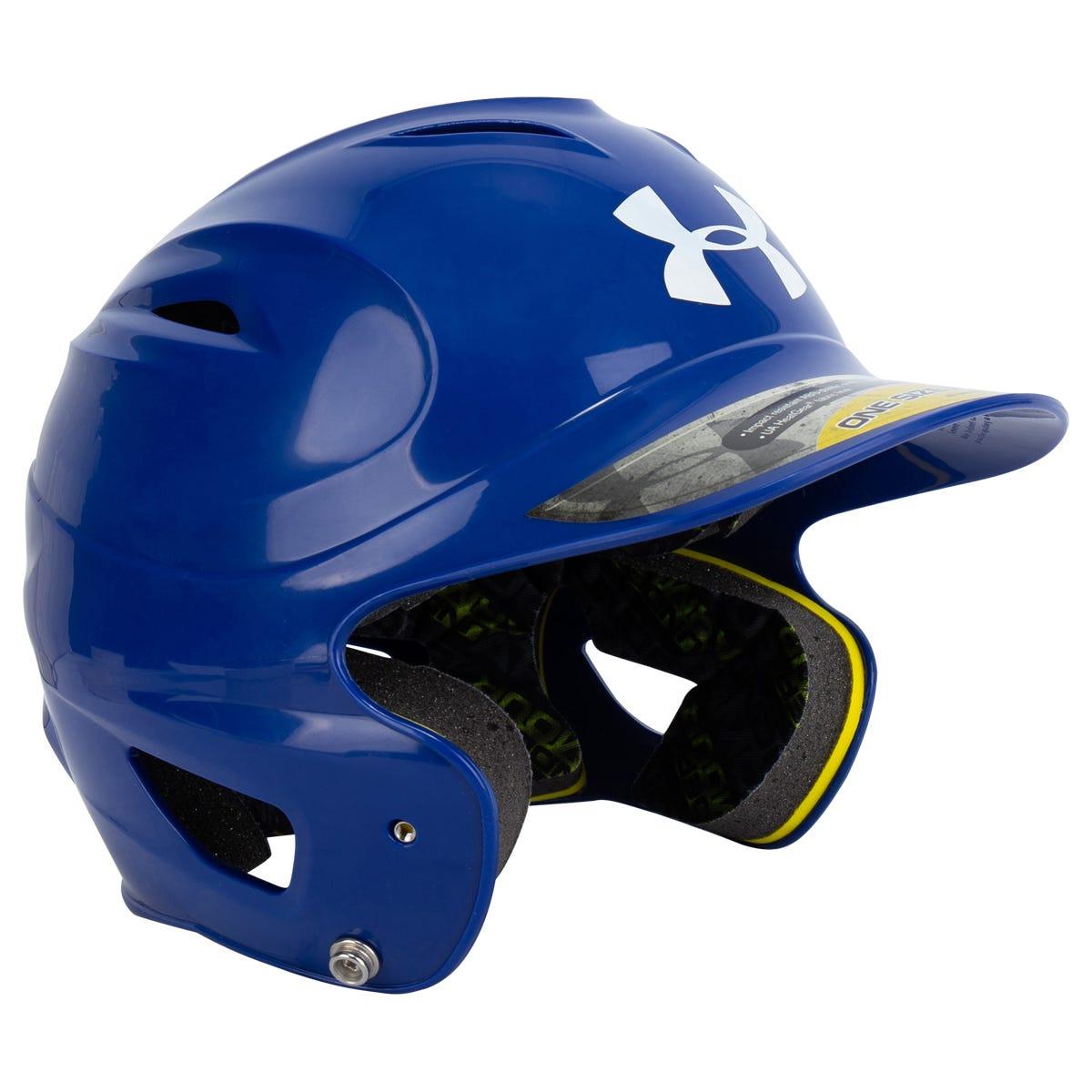 Under Armour MLB Baseball Batting Helmets Padded Purple OSFA