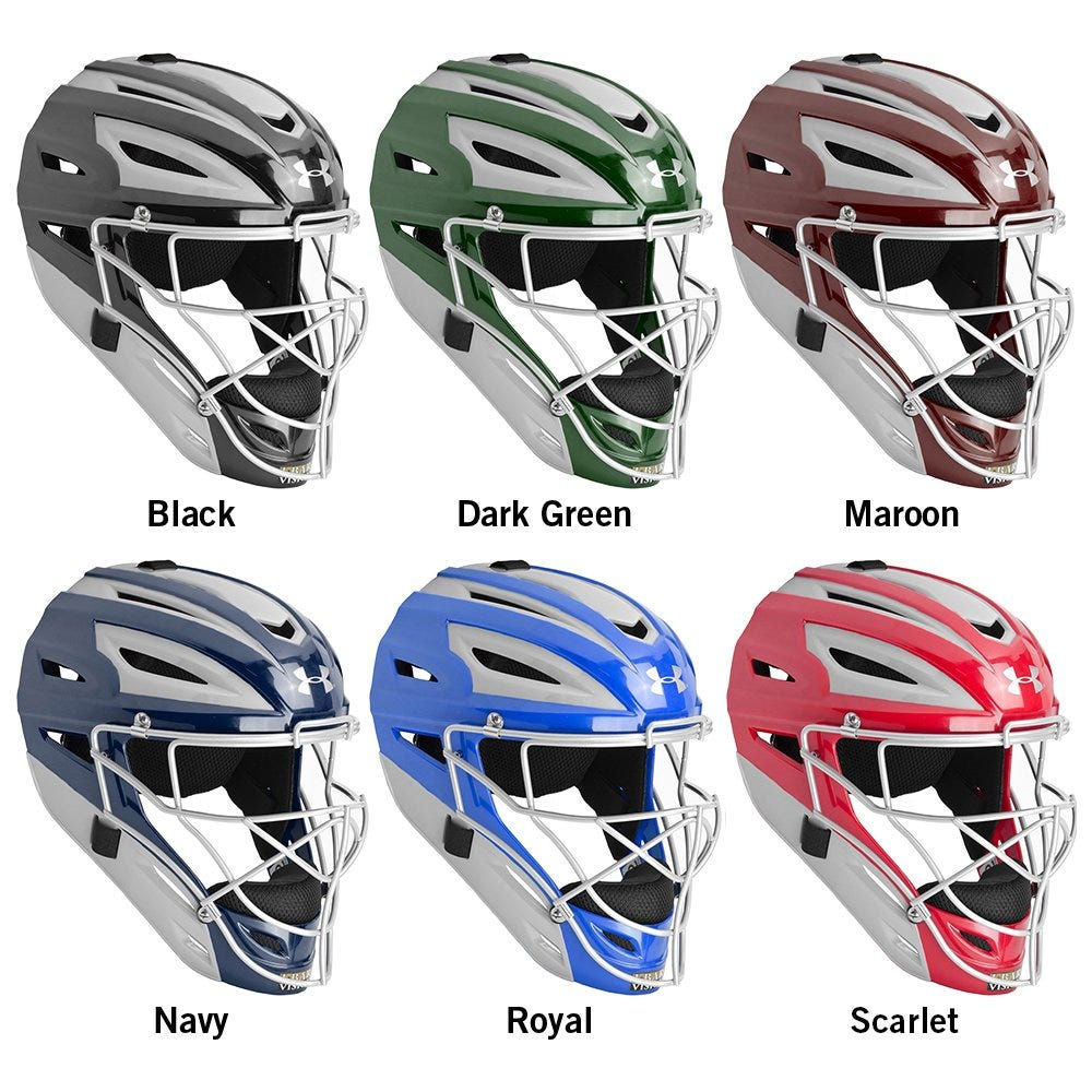Under Armour Pro Two Tone Youth Helmet