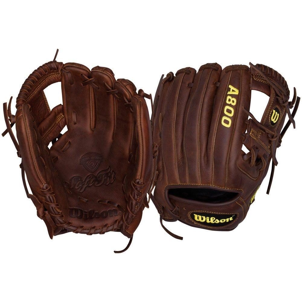 Wilson A800 Game Ready Softfit BB115 11.5 Adult Baseball Glove