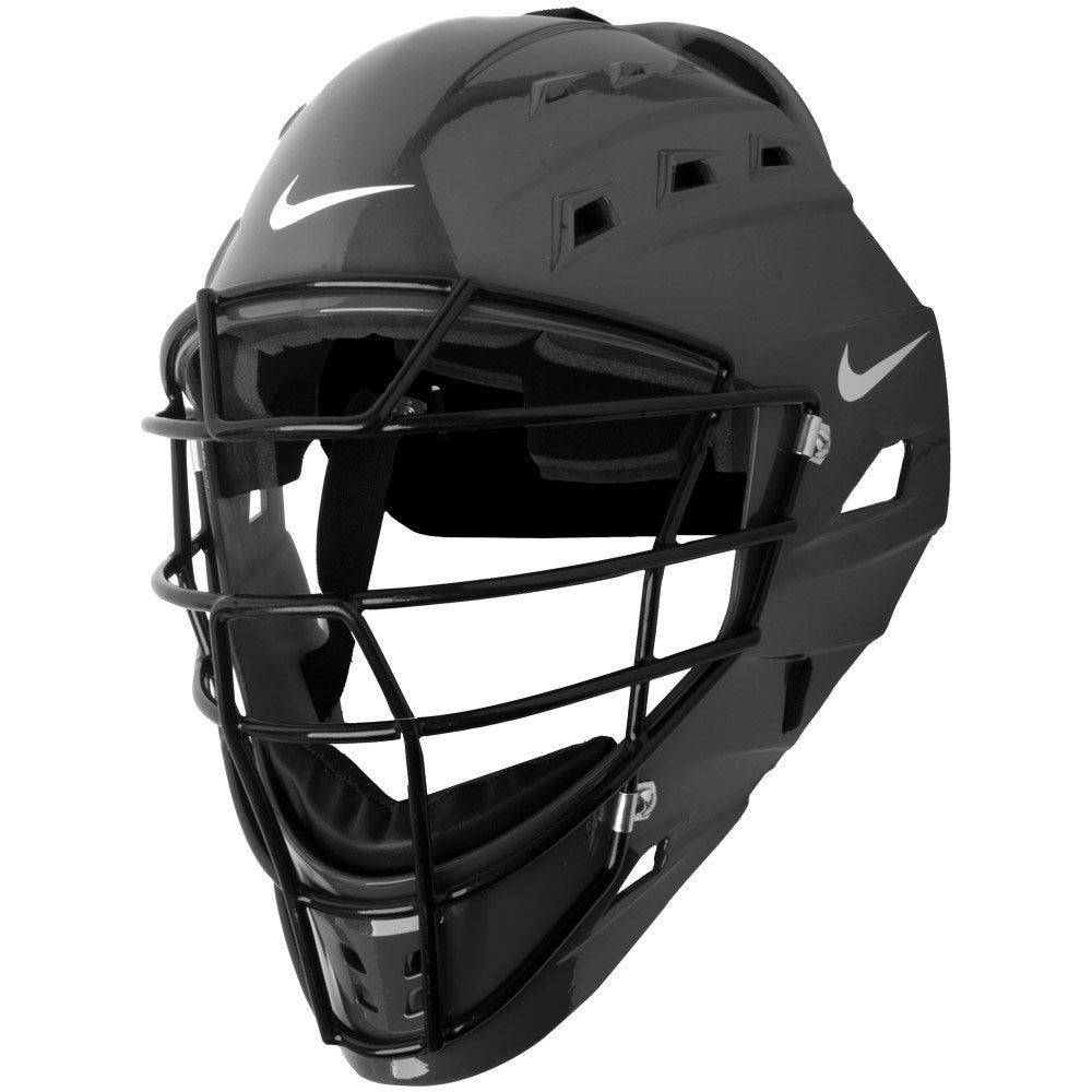 Mens Adult Baseball Catcher's Helmet; Black - Nike DE3539