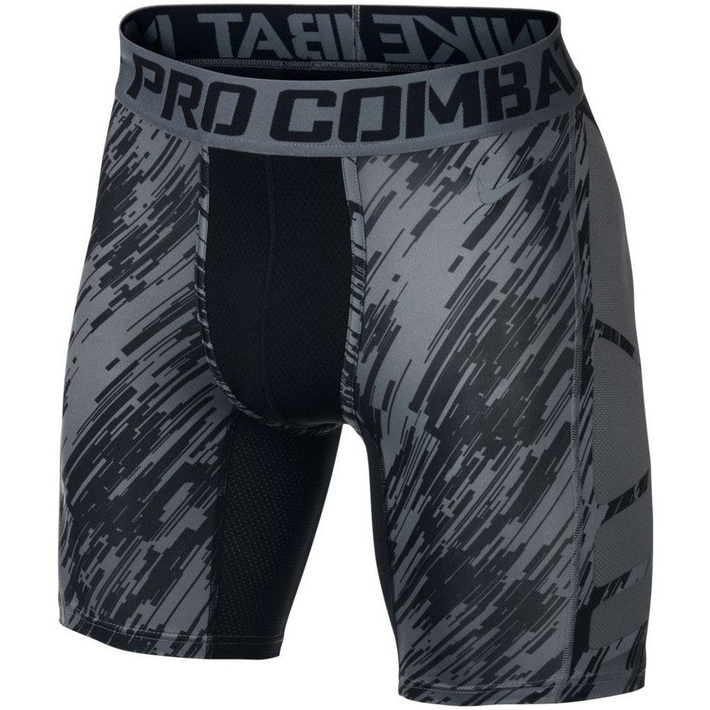 Baseball Pro Combat Hypercool Digital Rain Compression Shorts by Nike