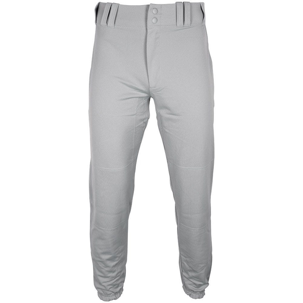 Mens Large Baseball Slider Pant; Elastic Waist - Grey by Under Armour