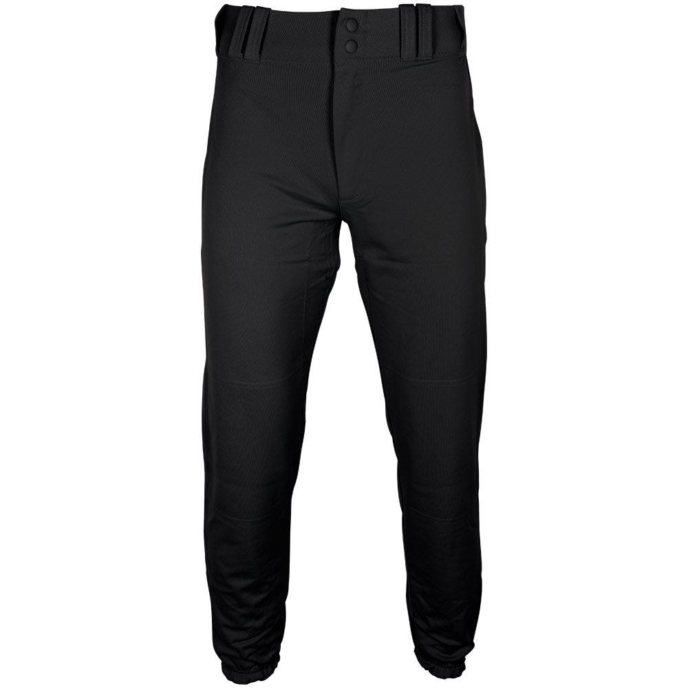 Mens Size X-Large Slider Baseball Pant by Under Armour; Black