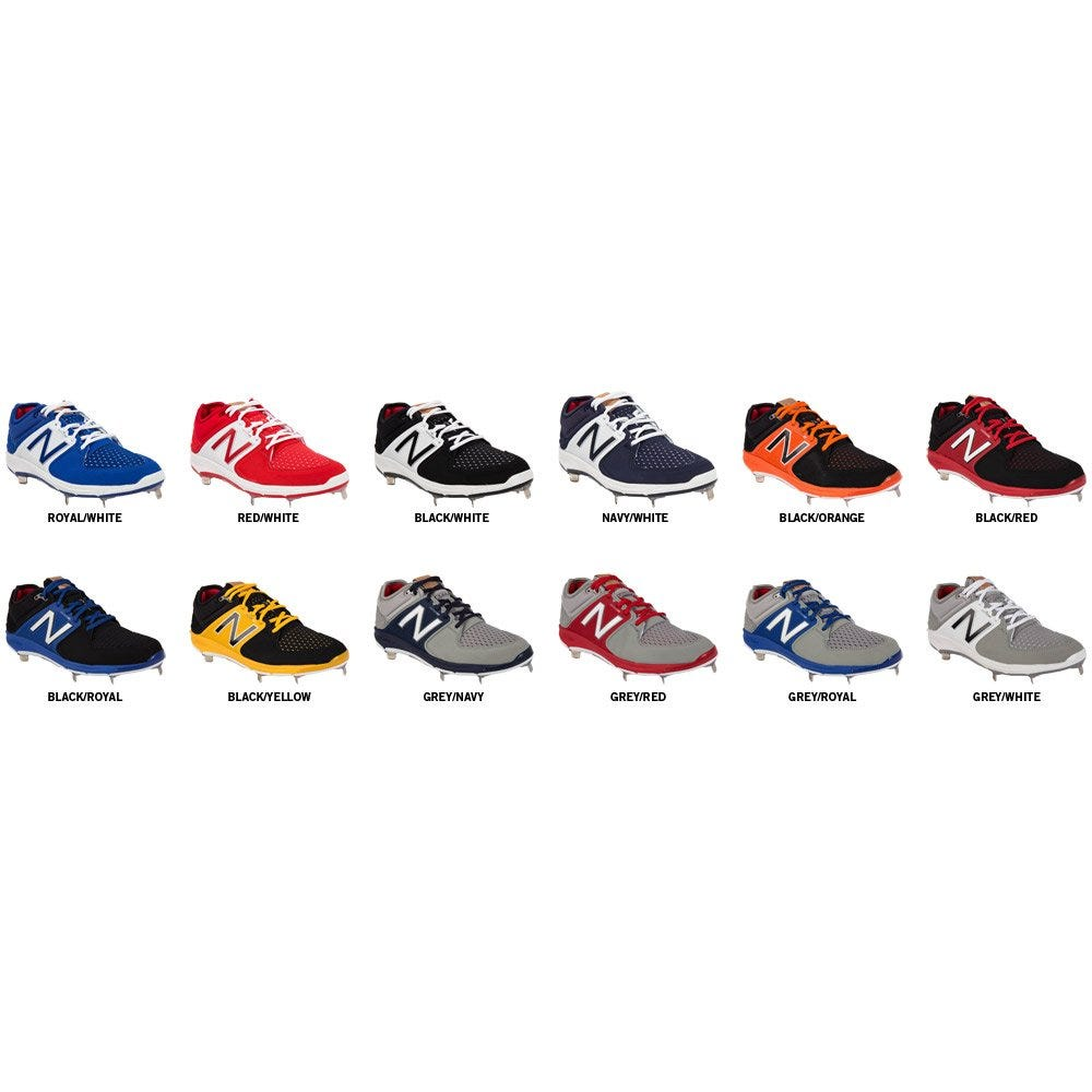 9eb92504d New Balance L3000V3 Men s Low Cut Metal Baseball Cleats