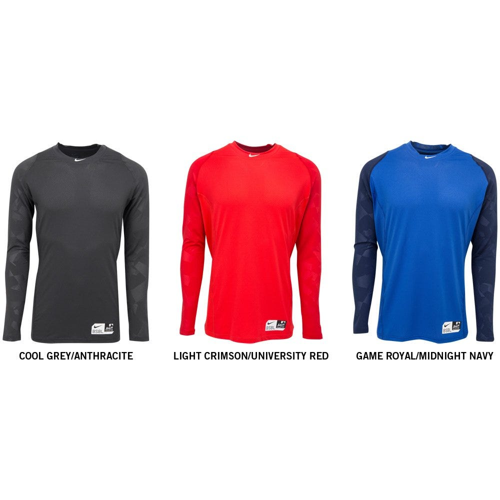 7bae766b Nike Pro Combat Hypercool Compression 2.0 Long Sleeve Top Mens