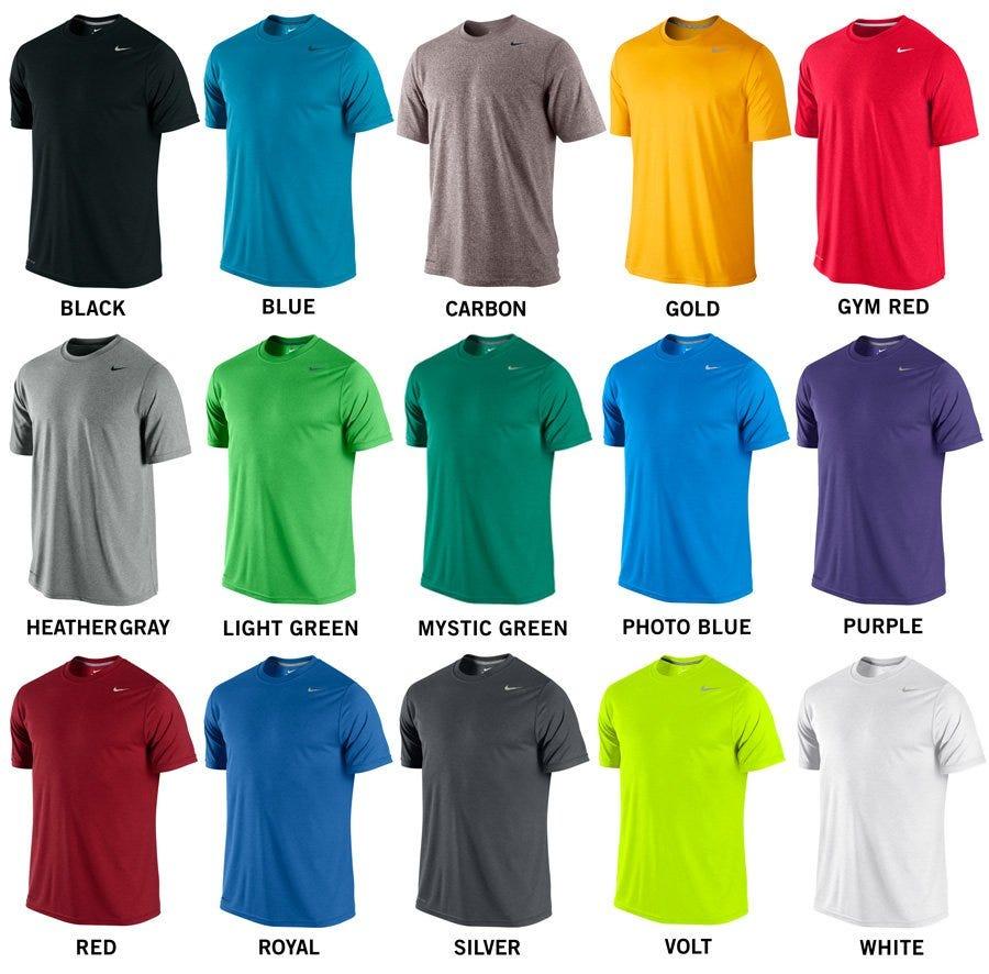 nike shirt colors