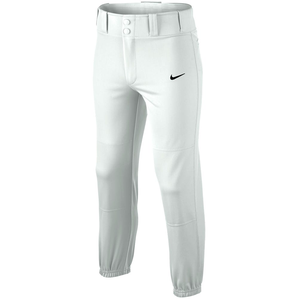 Baseball Core Dri-Fit Baseball Pant by Nike; Boys Large in Grey