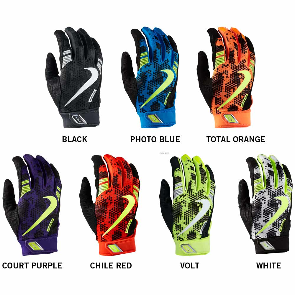 Black batting gloves - Nike Vapor Elite Pro 3 0 Gb0410 Adult Batting Gloves