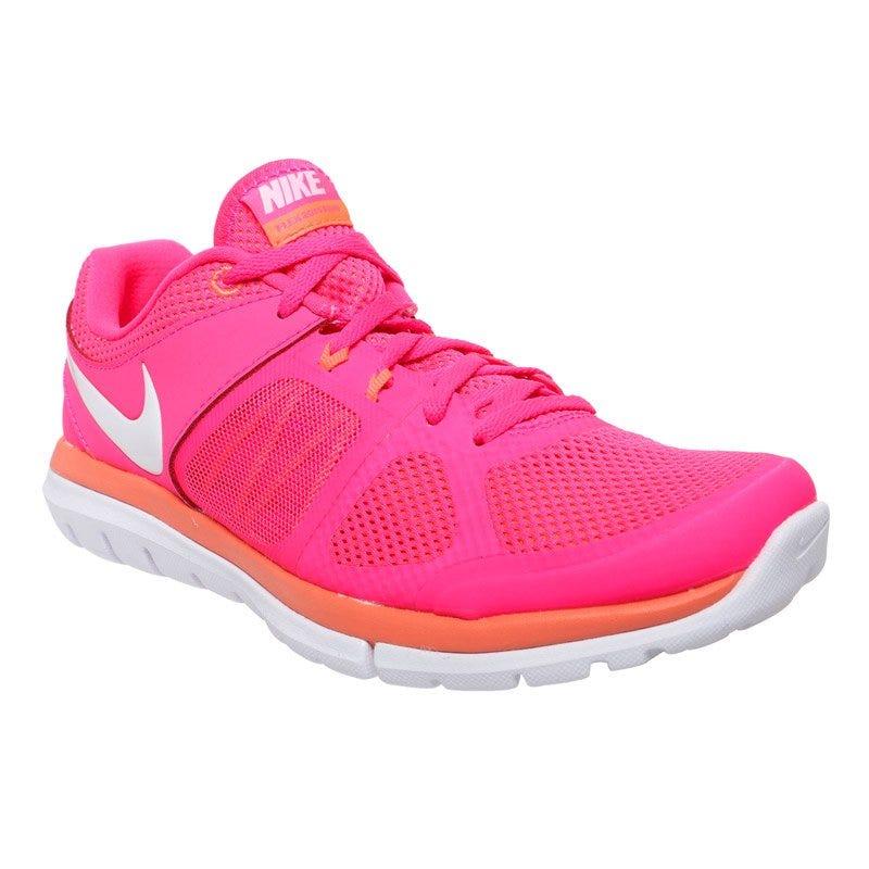 Nike Flex Run Womens Running Shoes - Pink