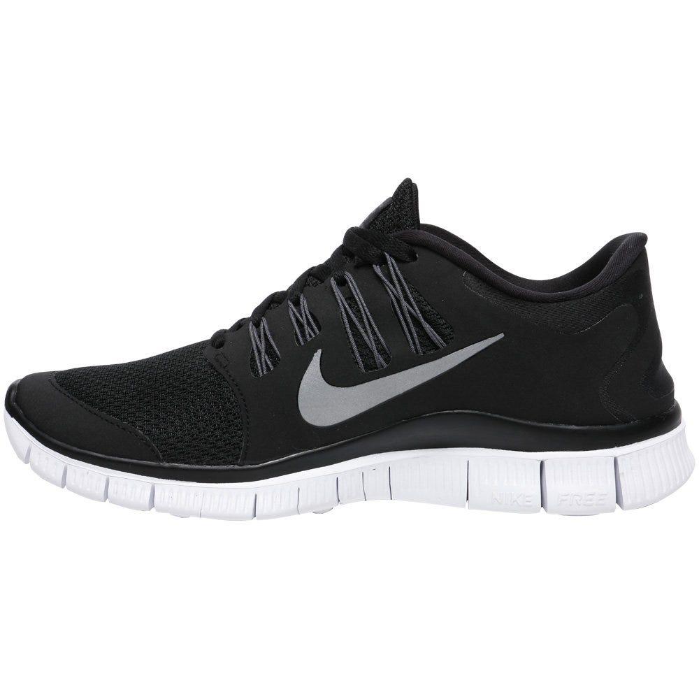 Nike Free 5.0+ Women's Training Shoes - Black/Dark Grey/White