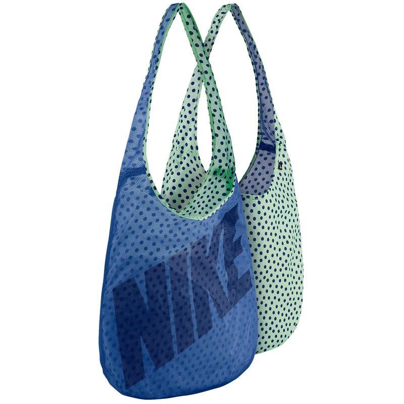 Baseball Tote Bag by Nike Reversible in Black/White w/ Block Print