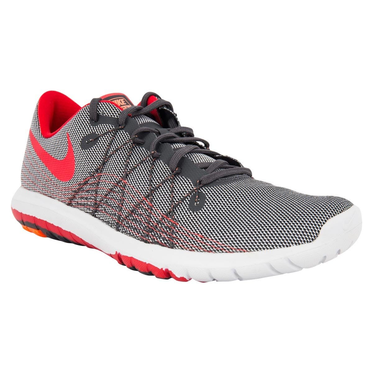 Nike Flex Fury 2 Men's Training Shoes - Anthracite/University Red
