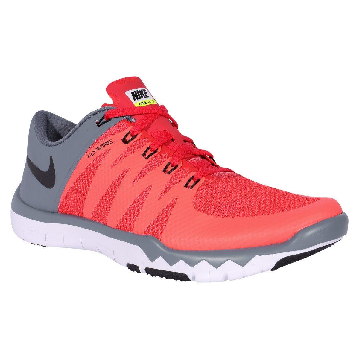 Nike Free Trainer 5.0 V6 Mens Training Shoes - Red/Graphite Black